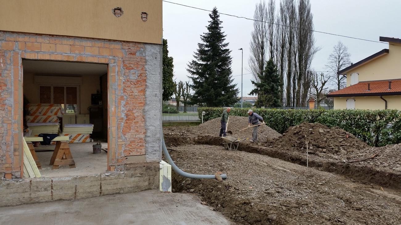Impatto zerotrasformare un edificio esistente impatto zero for Aprire il pavimento