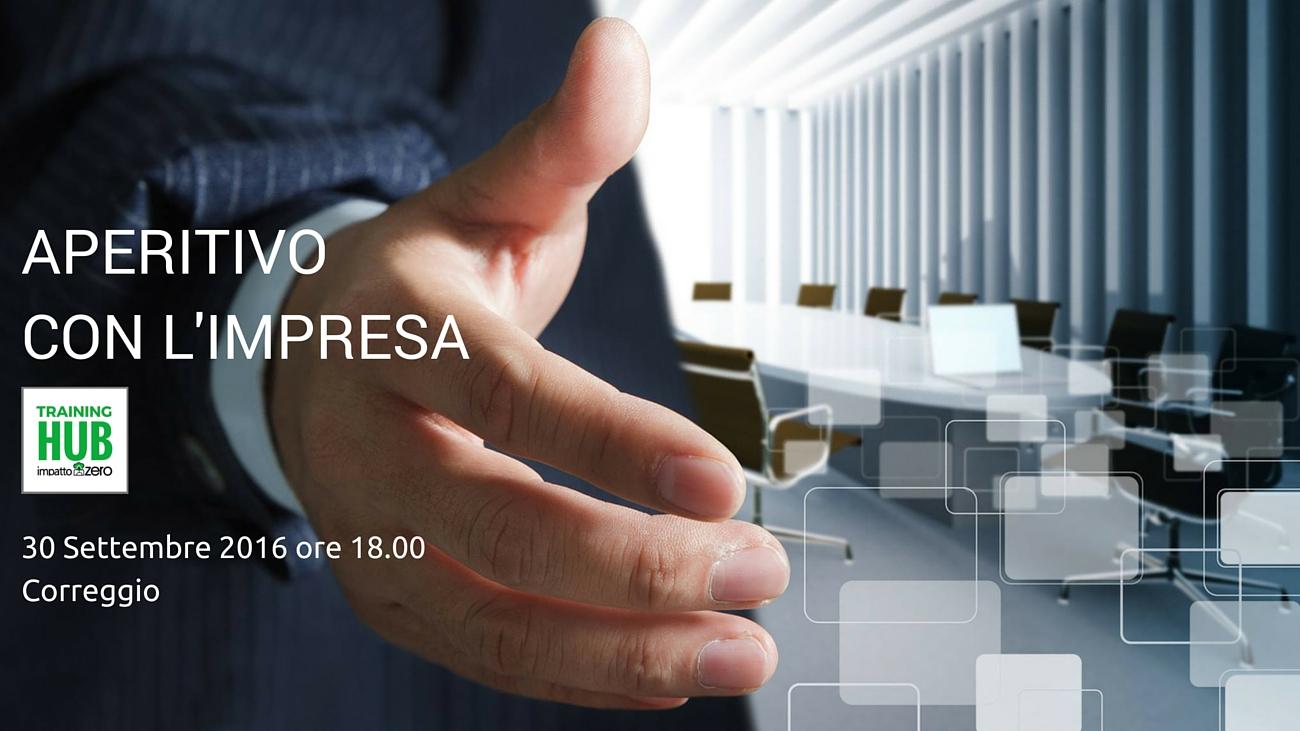 Impatto Zero - Aperitivo con l'impresa - Paolo Nicolini