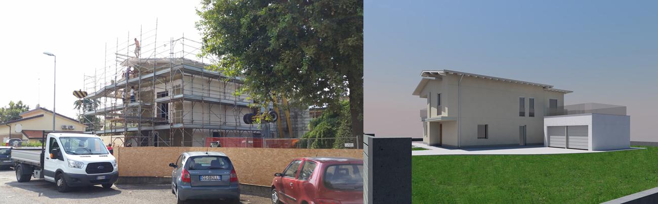 Prima e dopo casa Dotolo